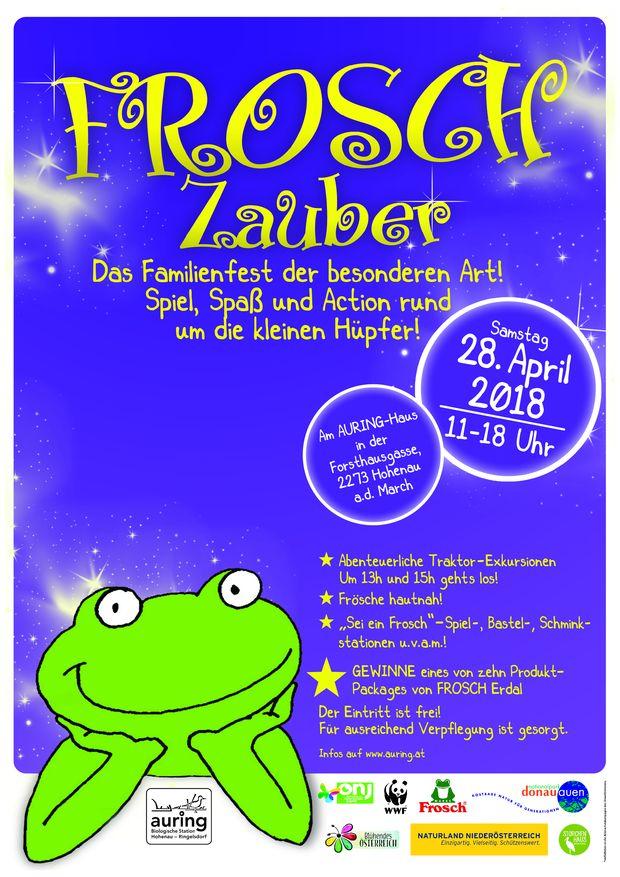 Plakat Froschzauber