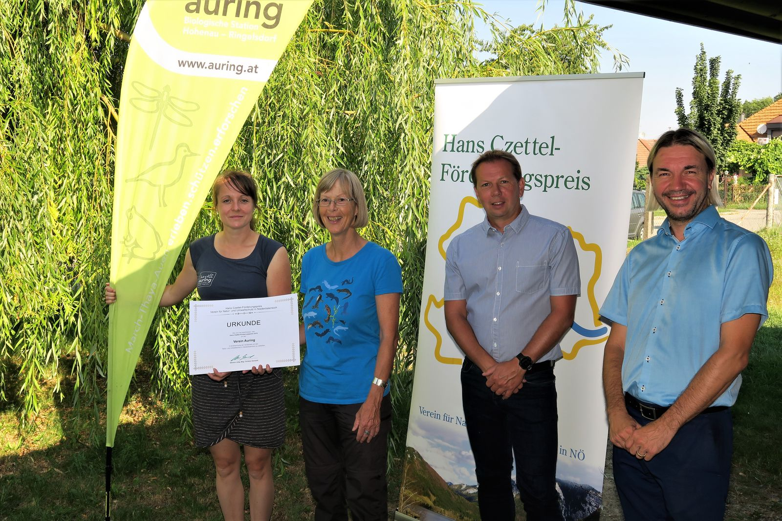 Hans Czettel-Förderungspreis 2019  Foto: D.Sauer