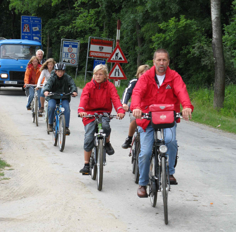 Radgruppe, Foto: R. Bohrn