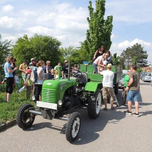 Traktorfahrt, Foto: U.Nüsken